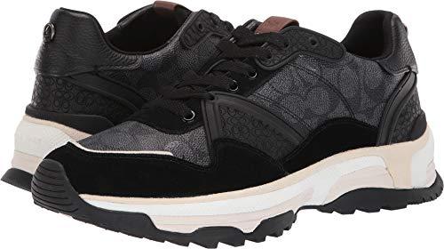 Coach Men's C143 Runner Black 8 D US (Coach Black Shoes Men)