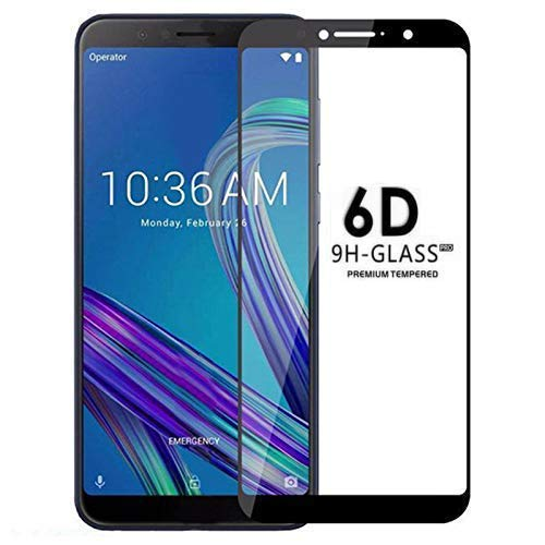 Techgadget 6D Curved Edge To Edge Tempered Glass for ASUS Zenfone Max Pro m 1