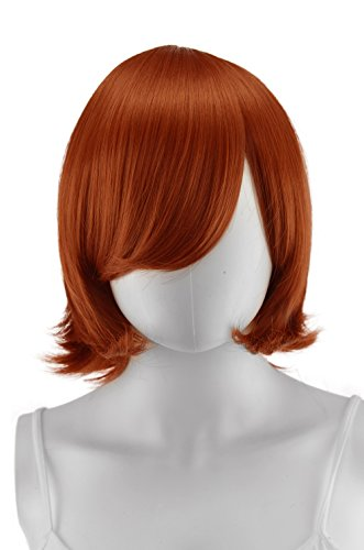Epic Cosplay Chronos Copper Red Cosplay Wig 14 Inches -