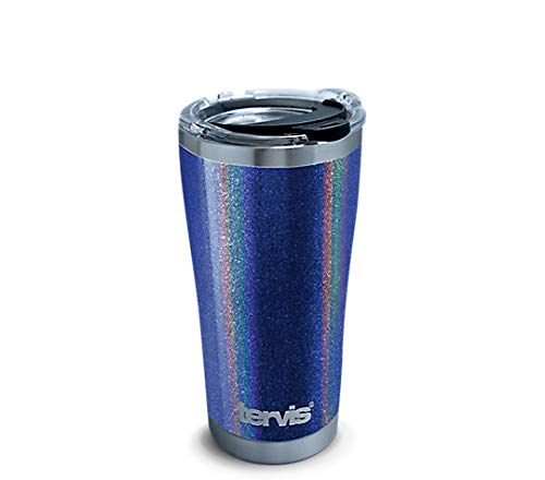 Tervis 1312237 Stainless Steel Insulated Tumbler with Lid, 20 oz, Shimmer Indigo