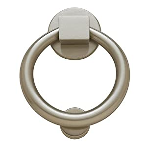 Baldwin Estate 0195.150 Ring Knocker in Satin Nickel, 4.25""