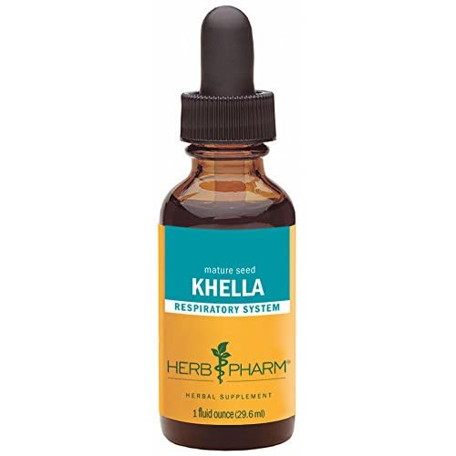 Herb Pharm Khella Extract for Respiratory System Support - 1 Ounce for sale