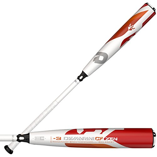 DeMarini 2018 CF Zen Balanced BBCOR Baseball Bat, 34