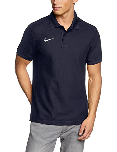 Nike Team Core - Polo - Team Core - Homme - Bleu (Blue) - FR : S (Taille Fabricant : S)
