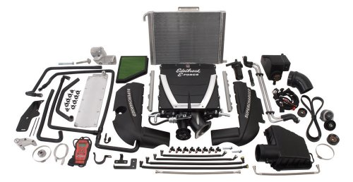 Edelbrock 1598 E-Force Supercharger Kit for Chevrolet Camaro SS ()