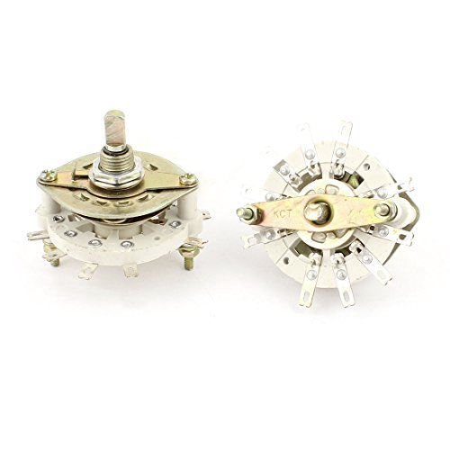 2pcs RF Power Channel Selector Rotary Switch 1 Pole 4 Position 1P4T