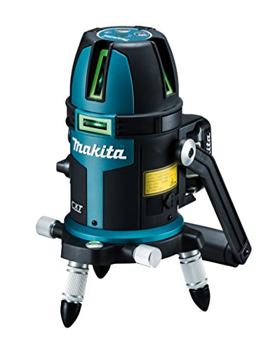 Makita SK209GDZ 12V max CXT Lithium-Ion Cordless Self-Leveling Multi-Line/Plumb Point Green Beam Laser, Tool Only ()