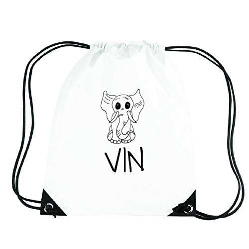 JOllipets VIN Turnbeutel Sport Tasche PGYM6012 Design: Elefant
