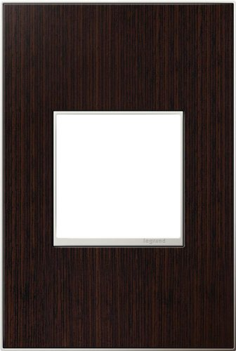 Adorne 1-Gang Wenge Wood Wall - Wenge Wood Finish