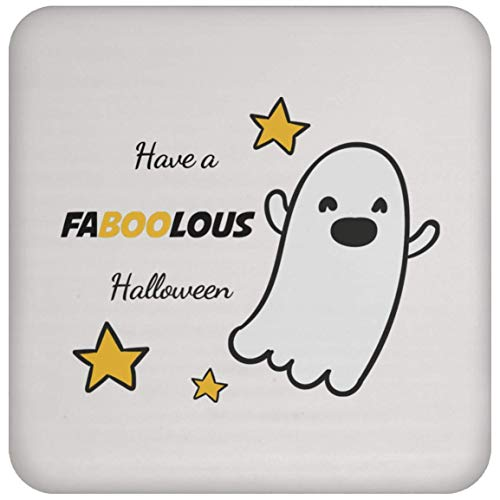 TG MUGS, Happy Halloween - Have a FABOOLOUS Halloween - Coaster -
