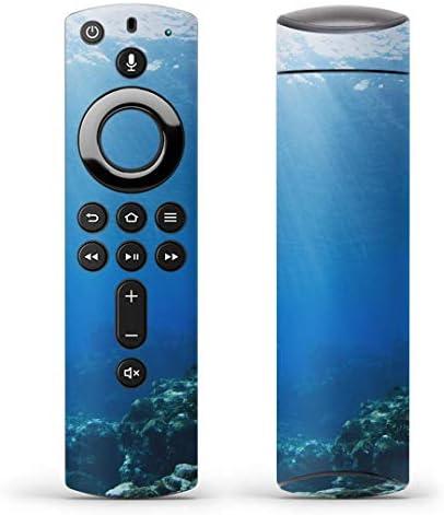 igsticker Fire TV Stick 第2世代 専用 リモコン用 全面 スキンシール フル 背面 側面 正面 ステッカー ケース 保護シール 002834 写真・風景 海 写真