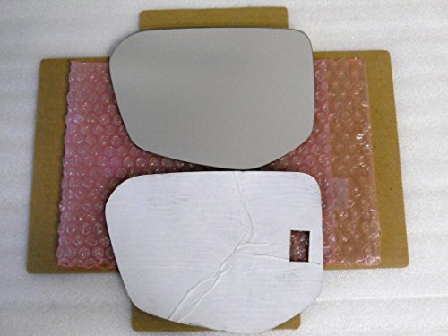 New Replacement Mirror Glass with FULL SIZE ADHESIVE for Honda Civic Driver Side View Left LH