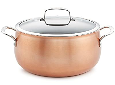 Belgique Copper Translucent 7.5-Qt. Dutch Oven