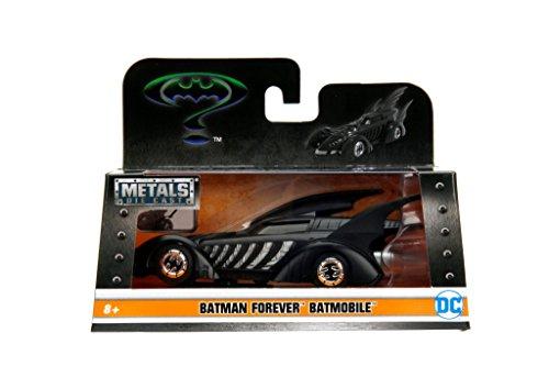 Batmobile Diecast Car (JADA 1:32 W/B Metals Batman Forever Batmobile Die Cast Car)