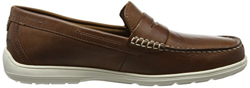 Rockport Men's Total Motion Penny Loafers Brown (Tan Leather) AJPel4