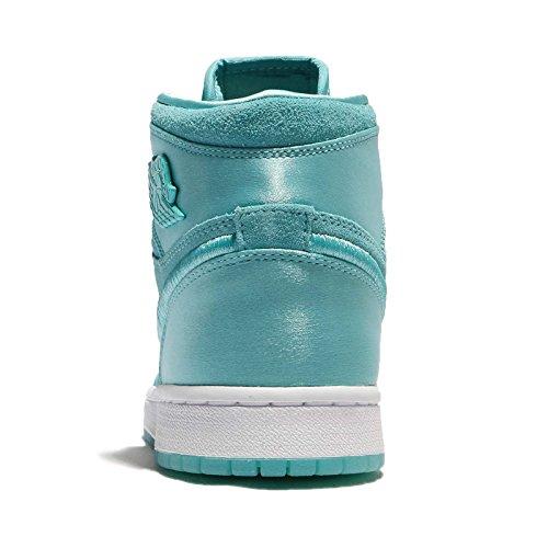 (ジョーダン) エアジョーダン 1 Ret ハイ Soh レディース バスケットボール シューズ Air Jordan 1 Ret High Soh Season Of Her Light Aqua AO1847-440 [並行輸入品]