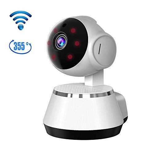 Home Security Camera, 960P WiFi Smart Cam 355 Degree Wireless Remote IP Security Surveillance Dome Camera for Baby /Elder/ Pet/Nanny Monitor with Night Vision