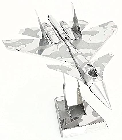 Amazon Com 3d Metal Puzzle Models Of The Fighter Jet Collection