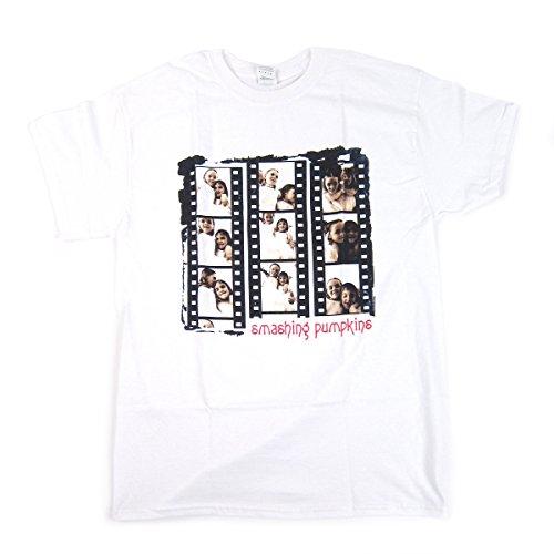 Smashing Pumpkins: Siamese Negatives Shirt - White (Large)