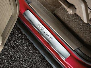 Dodge Journey Stainless Steel Door Entry Guards