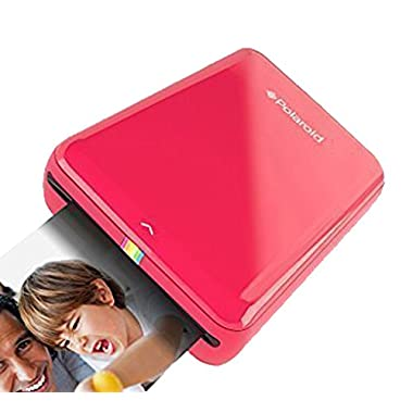 Polaroid ZIP Mobile Printer w/ZINK Zero Ink Printing Technology - Compatible w/iOS & Android Devices - Red