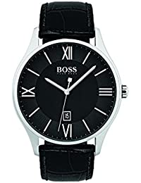 1513485 Black 44mm Stainless Steel Governor Men's Watch