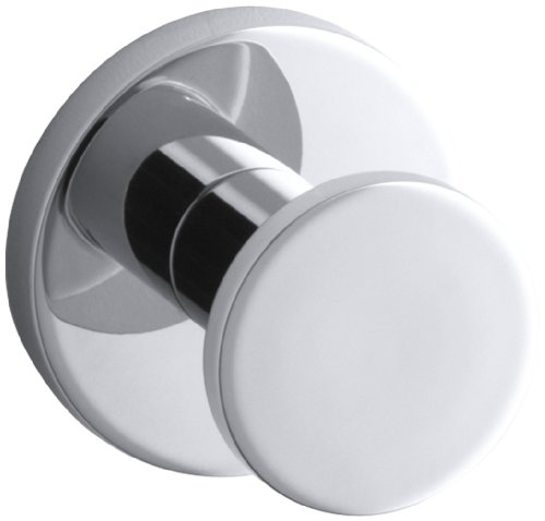 KOHLER K-14458-CP Stillness Robe Hook, Polished Chrome