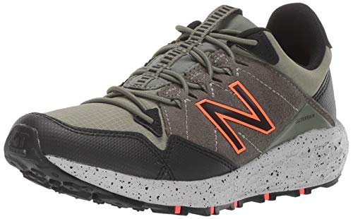 New Balance Boys' Craig V1 Running Shoe, Mineral Green/Black/Alpha Orange, 3 M US Little Kid