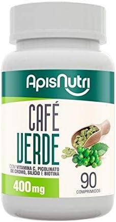 Café Verde 400mg (90 caps), Apisnutri