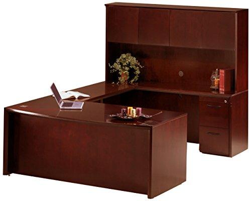 - Mayline Corsica Series Suite #2 U-Shaped Desk,