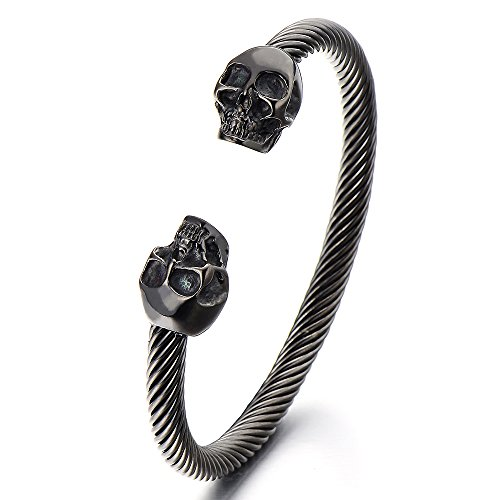 Elastic Adjustable Stainless Bracelet Polished
