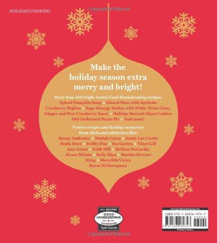 The Good Housekeeping Christmas Cookbook: Recipes * Decorating * Joy (Good Housekeeping Cookbooks): Susan Westmoreland, Good Housekeeping: 9781588169747: ...