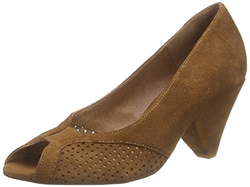 Mentore Damen Pump Pumps Braun (marrone)