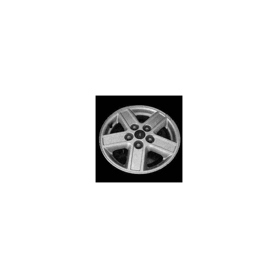 05 FORD ESCAPE ALLOY WHEEL RIM 15 INCH SUV, Diameter 15, Width 6.5, Lug 5 (5 GROOVED SPOKES), BRIGHT SILVER, 1 Piece Only, Remanufactured , (center cap not included) (2005 05) ALY03578U20