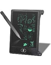 Schrijftafel, 4,5 inch (4,5 cm) LCD-handschrijftafel, tekentafel voor tablet voor kinderen en jongeren, herinnering voor memorylijst, functioneel bord, zwart.