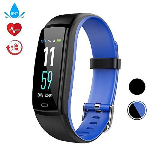 WELTEAYO Fitness Tracker, Activity Tracker Watch with Heart Rate Monitor, Activity Tracker with Color Screen, Smart Bracelet with Sleep Monitor