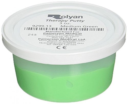DSS Therapy Putty (Putty; 3 oz., Medium - Green)
