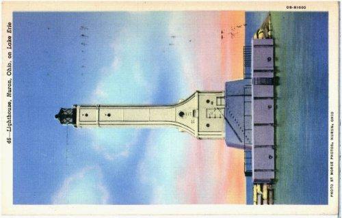 Photo Reprint Lighthouse, Huron, Ohio, on Lake Erie 1941-1950 ()