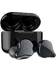 okcsc E12 Wireless Earphones,Bluetooth 5.0 Wireless Earbuds True Wireless Headphones With 750mAh Charging Case,in-Ear Headset Built in Mic,Auto Paring,Deep Bass Stereo Sound