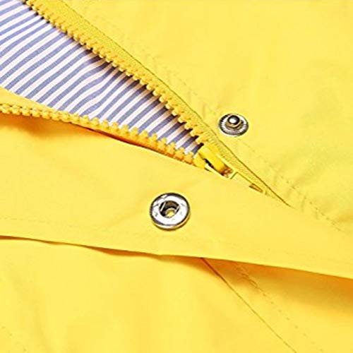 Vicgrey Antivento Donna Donna Impermeabile Cappotto Giacca Inverno Autunno Giallo Cappuccio ❤ Moda Parka Felpa Outwear Con rqw8r