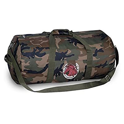 ee7694fce0 Horse Lover CAMO Duffle Bag Horses Duffel Suitcase Luggage delicate. The Broad  Bay ...