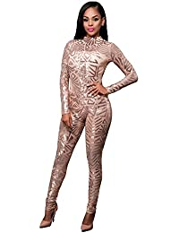 Amazon.com: Gold - Jumpsuits, Rompers & Overalls / Clothing ...