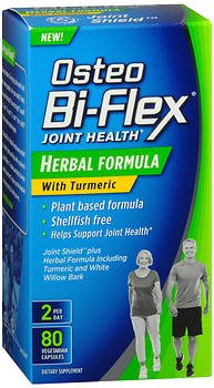 Osteo Bi-Flex Triple Strength + Turmeric, 80 Coated Tablets (Pack of 2)
