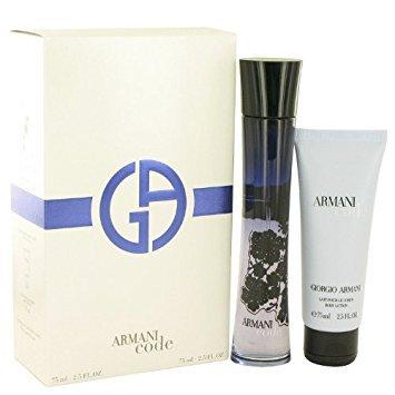 [Bella Bella Boutique] Armaní Codé Women Gift Set 2.5 oz Eau De Parfum Spray + 2.5 oz Body Lotion