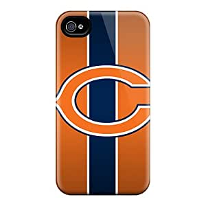 Iphone 6 Cases Covers - Slim Fit Protector Shock Absorbent Cases (chicago Bears)