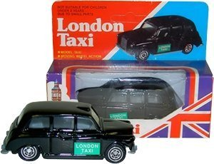 Taxi Cab Diecast Model - Diecast London Black Taxi Model / Moving Wheel Action / England  UK Souvenir / British Cab Toy