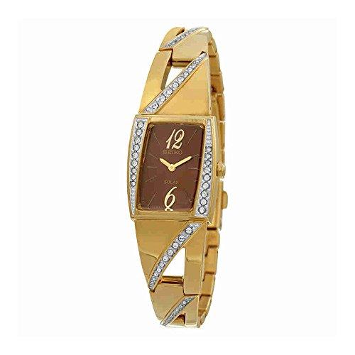 Seiko Womens SUP248 Analog Display Japanese Quartz Gold Watch