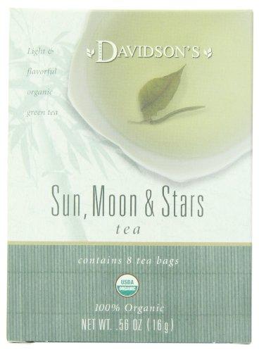 Davidson's Tea Assorted Green Teas, 8-Count Tea Bags (Pack of 12)