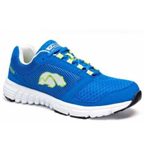 Karhu Prist - Zapatillas para correr de hombre, color azul royal/blanco/verde limón, talla 45: Amazon.es: Zapatos y complementos