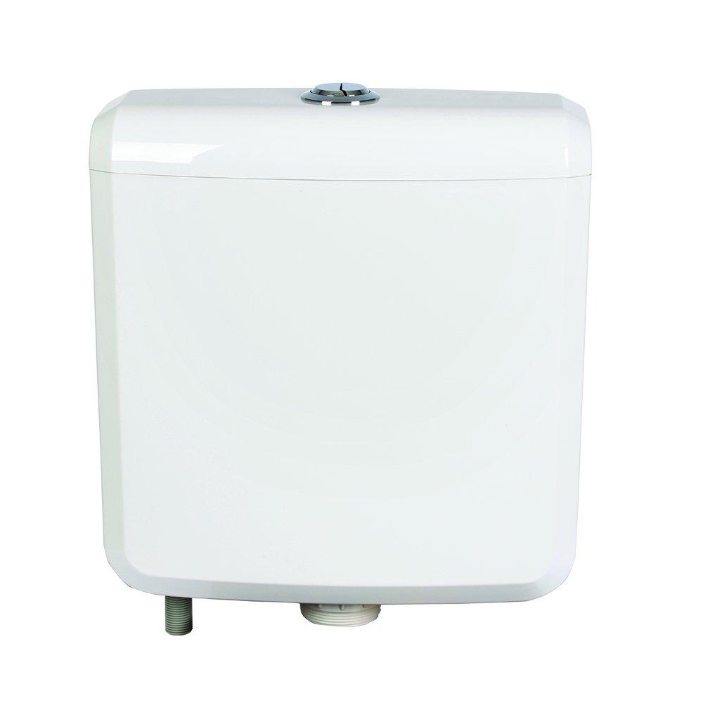 FLUSHDADDY CIST10 Top Dual Flush Cisterna entrada inferior, multicolor, 6 litros Mark Vitow Ltd